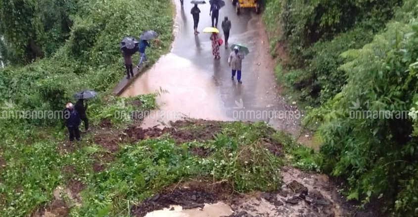 Landslides return to haunt Idukki amid heavy rain