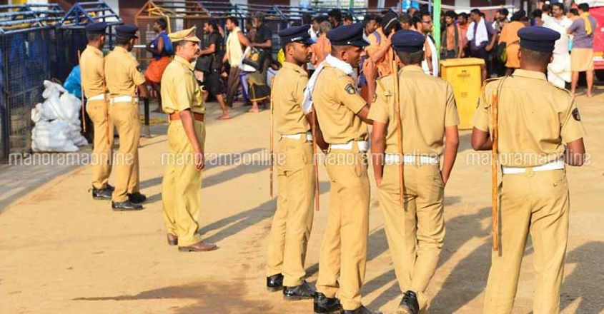 Over 10,000 police personnel to be deployed in Sabarimala