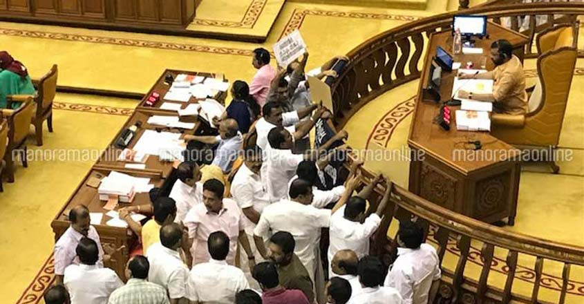Assembly deadlock looms over demand for adjournment motion on Sabarimala