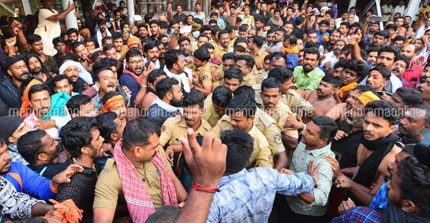 Campaign to collect 1.5 crore signatures on Sabarimala issue