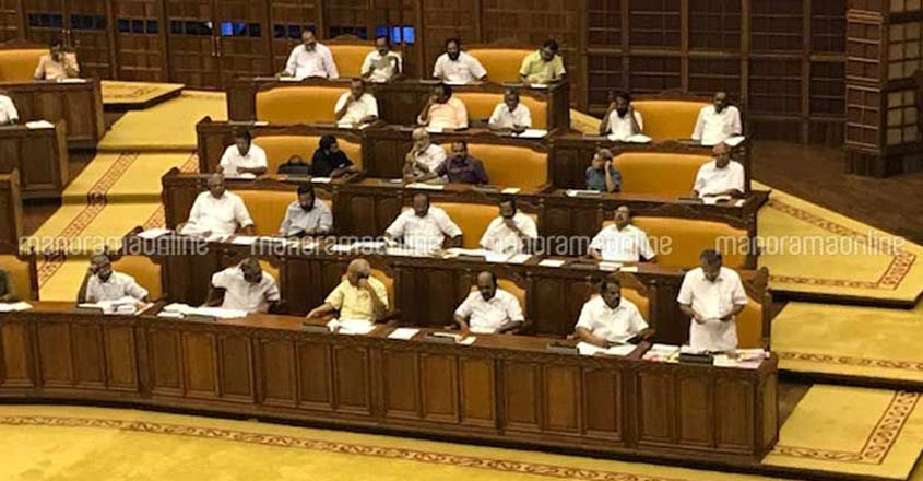Opposition blames Isaac for smothering local bodies, walks out of Assembly