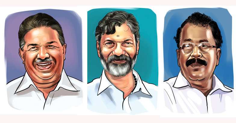 Chengannur bypoll candidates