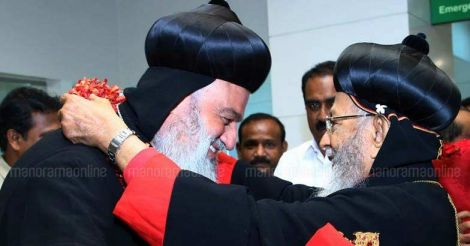 Patriarch of Syrian Orthodox church arrives, to meet PM