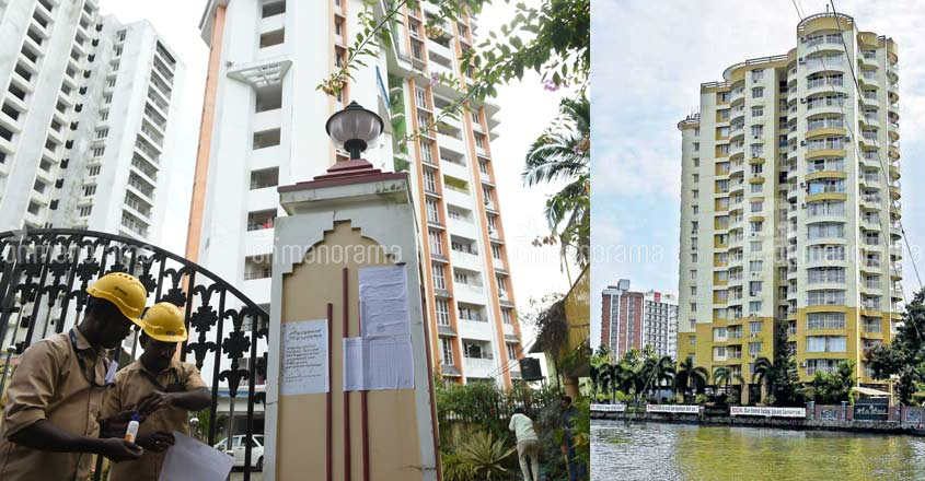 Owners of Maradu flats to submit affidavits to claim compensation