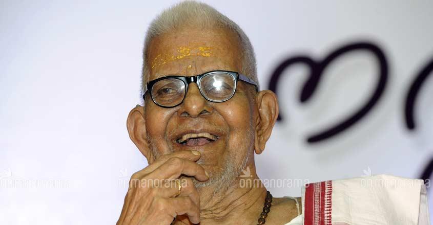 Akkitham Achuthan Nampoothiri wins Jnanpith Award