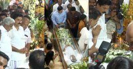 Kerala bids adieu to KM Mani
