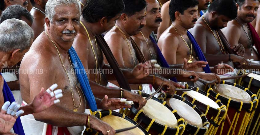 Cacophony over Thrissur Pooram percussion copyrights