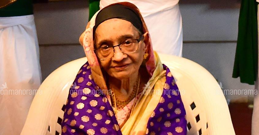 Arakkal Beevi Fathima Muthu Beevi, 86, passes away