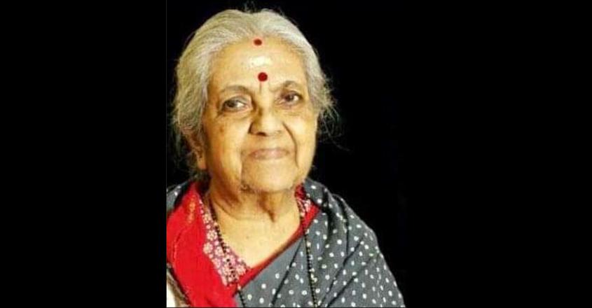 Early Malayalam playback singer Gayatri Srikrishnan is no more