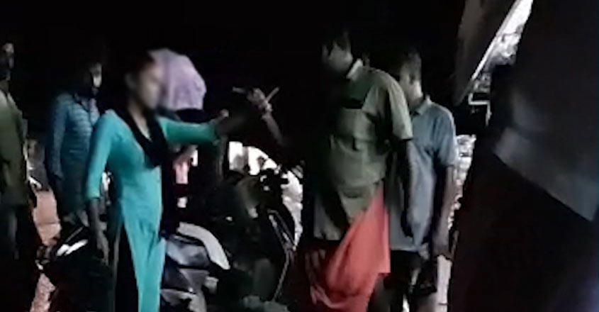 Shocker from Wayanad! Man thrashes couple on road at night, video goes viral