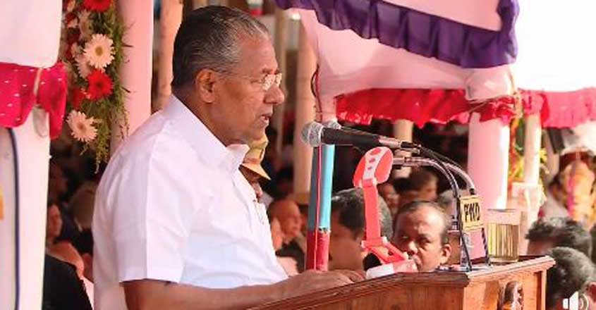 Those who killed Gandhi are trying to make him their own: Pinarayi