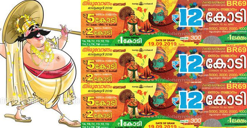 Kerala Lottery Thiruvonam Bumper