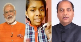 Kerala girl awes PM Modi, Himachal CM by sweet rendition of the state's folk song