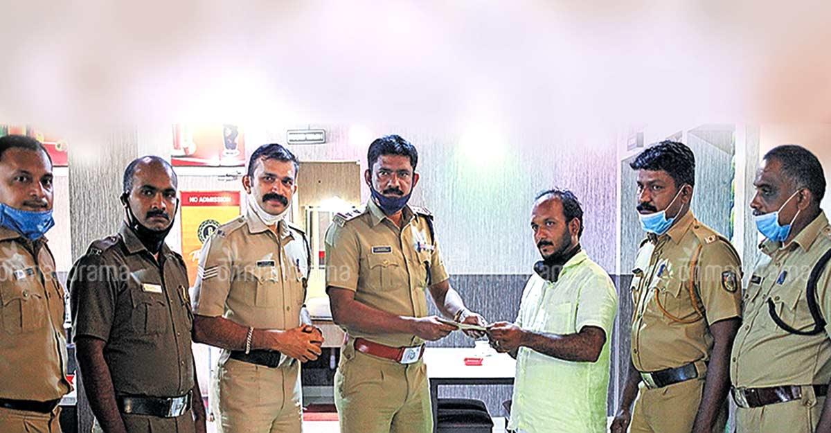 police-kerala-food