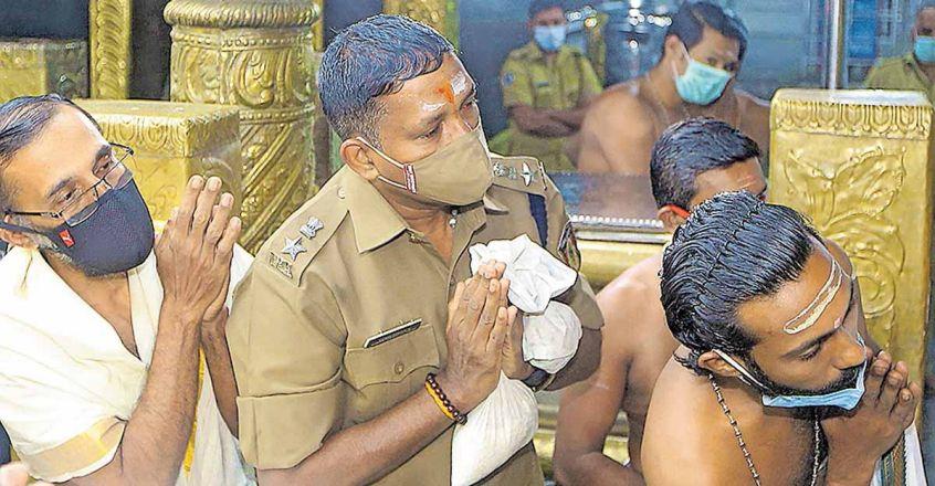Fulfilling vow: IPS officer Vijayakumar Narayanan gets first 'darshan' after Sabarimala reopens