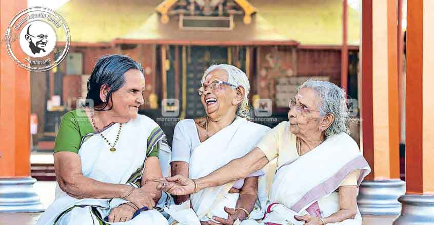 Gandhiji's visit to Kottayam through the memories of 3 nonagenarians