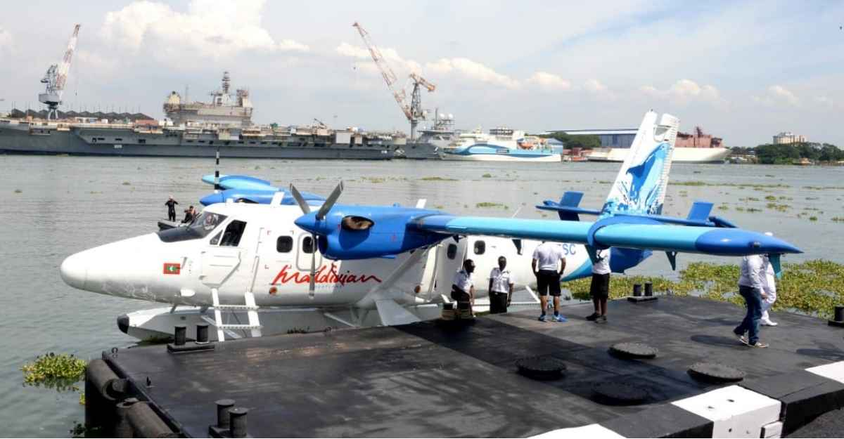 Second seaplane lands in Venduruthy channel on Sunday after 68 years