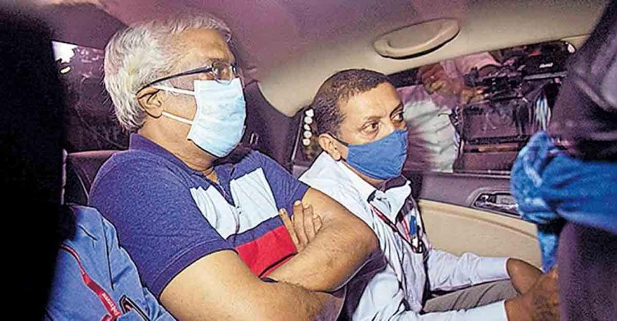 Customs arrests Sivasankar in dollar smuggling case