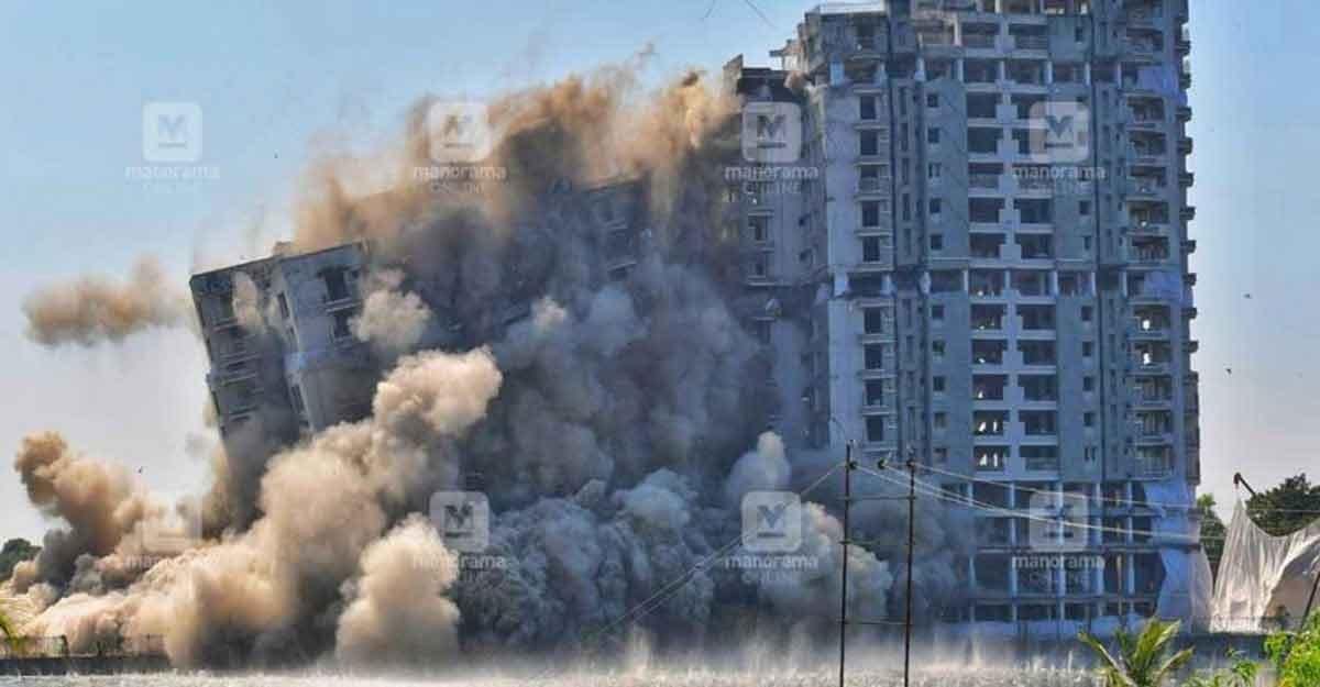 Vigilance, Crime Branch probe pending even a year after Maradu flats demolition