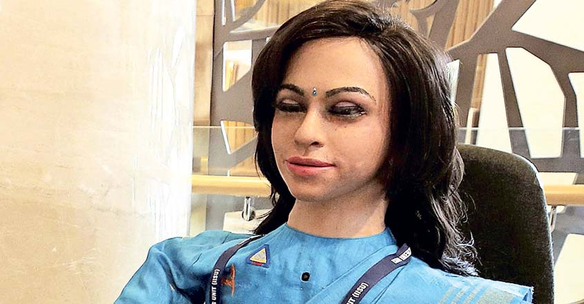ISRO's maiden humanoid Vyommitra took shape in Kerala capital