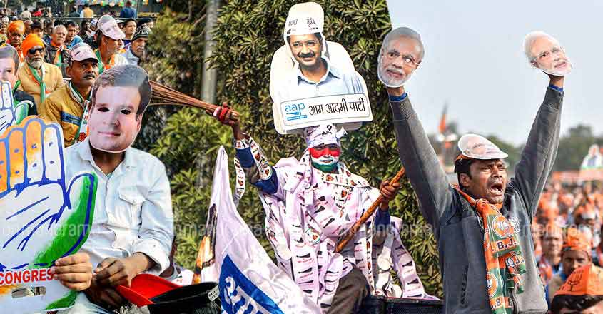 AAP, BJP or Congress: How a million Keralites in Delhi view Assembly polls