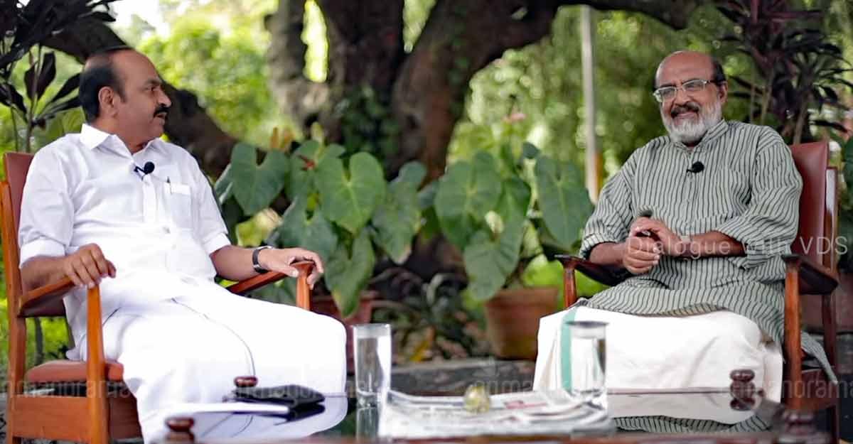 Congress Mla Vd Satheesan Does A Raga Interviews Cpm S Kerala Finance Minister Thomas Isaac