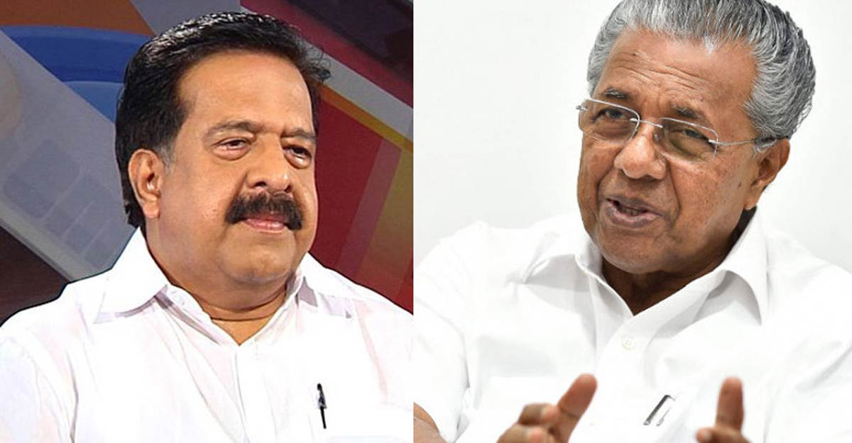 CM's nod for Vigilance probe against Chennithala, 2 other Congress leaders
