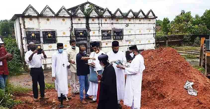 Finally, Kerala priest's body buried amid protests in Thiruvananthapuram