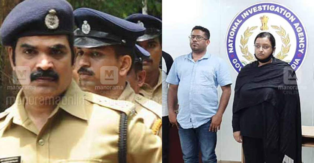 Sleuth grilling gold smuggling case accused Swapna, Sandeep a storied officer