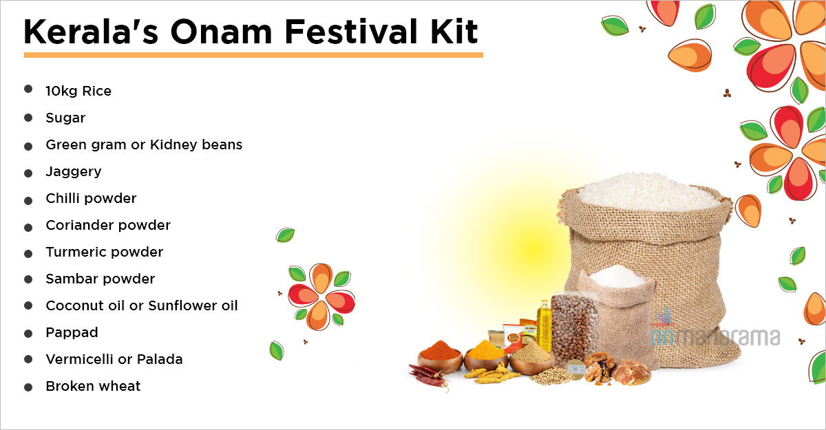 Distribution of Kerala's free Onam kit to begin on Thursday