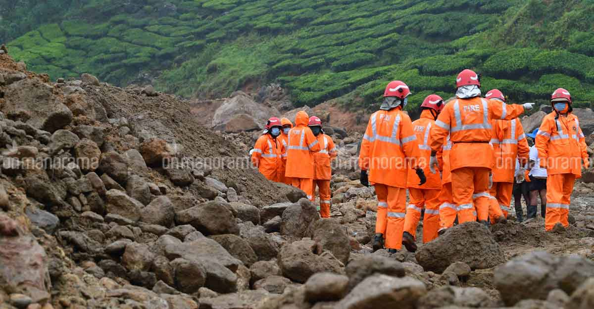 Pettimudi landslide: Search operations temporarily stopped; 5 still missing