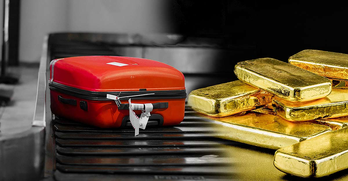 Agencies investigating gold smuggling case trying to trace Egyptian national Khalid
