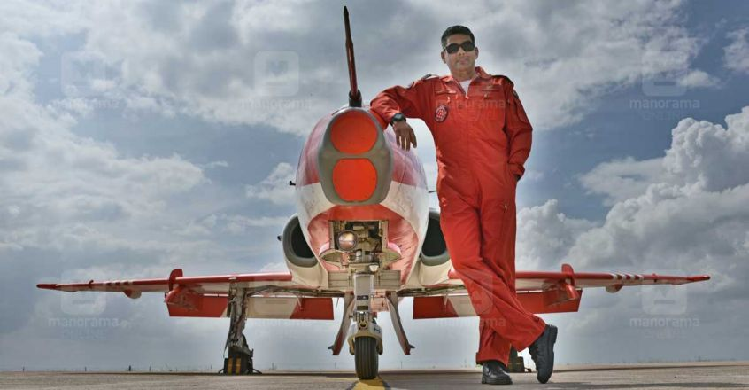 Wing Commander Venu Nambeesan