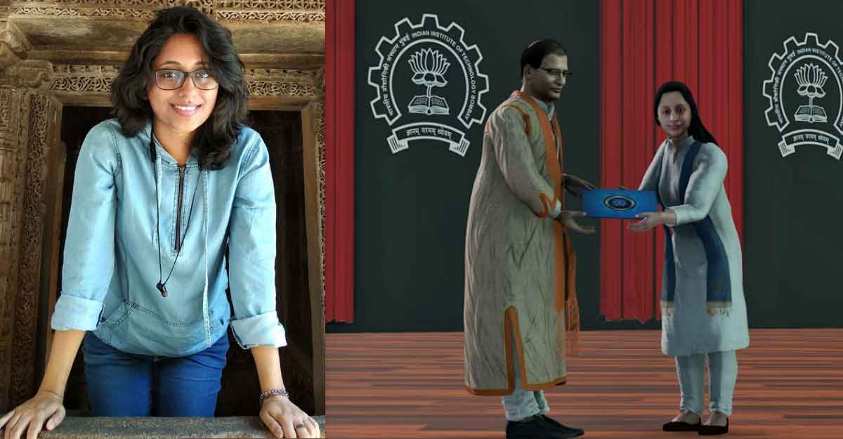 Kerala girl's 'avatar' gets MTech certificate at IIT-Bombay's virtual convocation