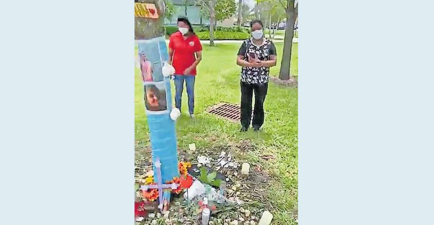 Nursing community in Florida pays last respects to Merin, funeral on Wednesday