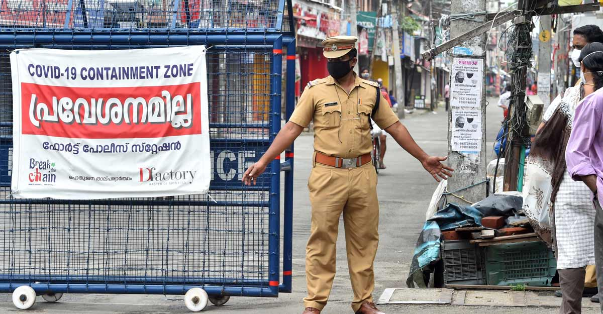 Prohibitory orders in several Kerala districts to check COVID-19 surge