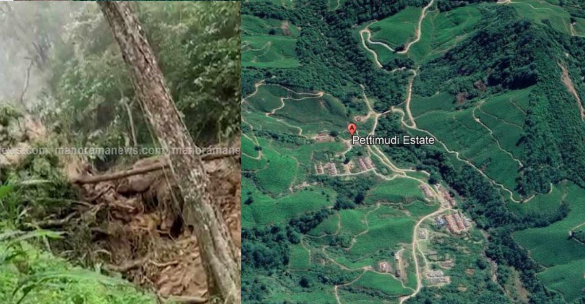 Massive landslide in Mannar's Rajamala