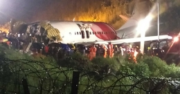 AI flight from Dubai falls into gorge at Karipur, splits into two; Death toll rises to 17