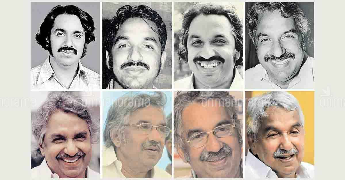 Oommen Chandy through the ages