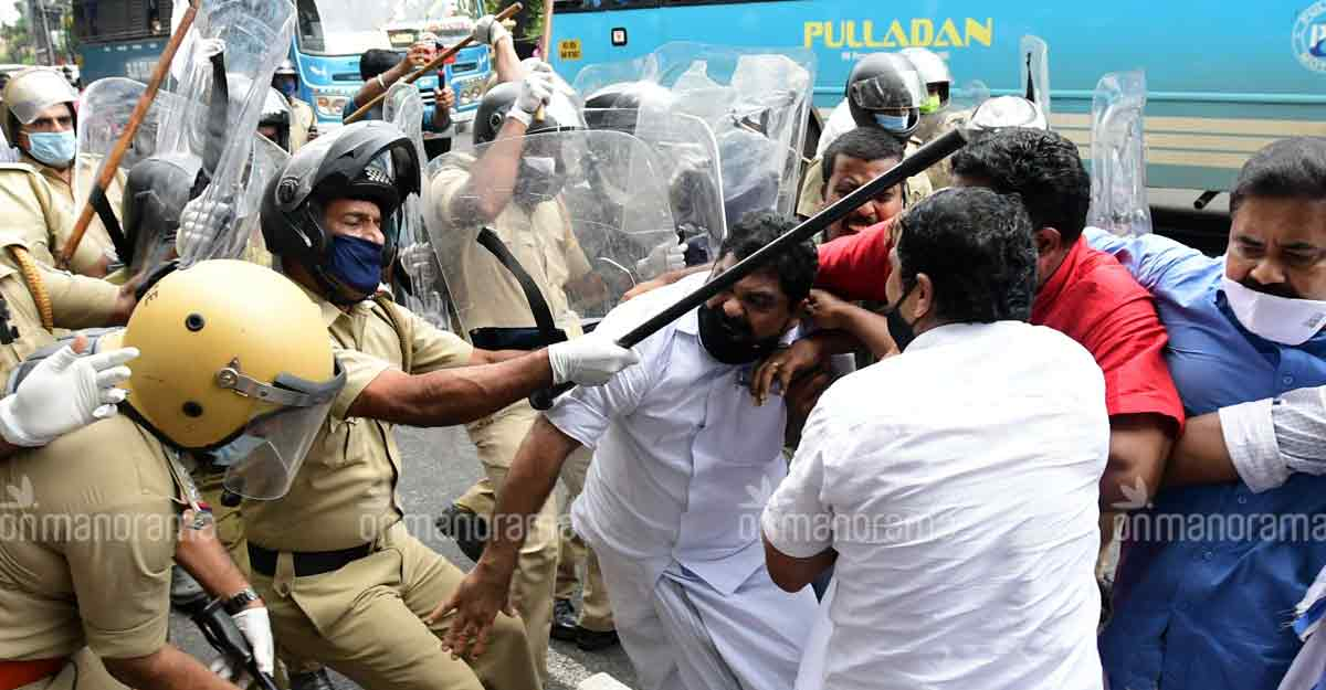 Pinarayi reveals figures that blame anti-Jaleel protests for COVID spike in police