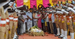 SP Balasubrahmanyam laid to rest at his farm house in Chennai