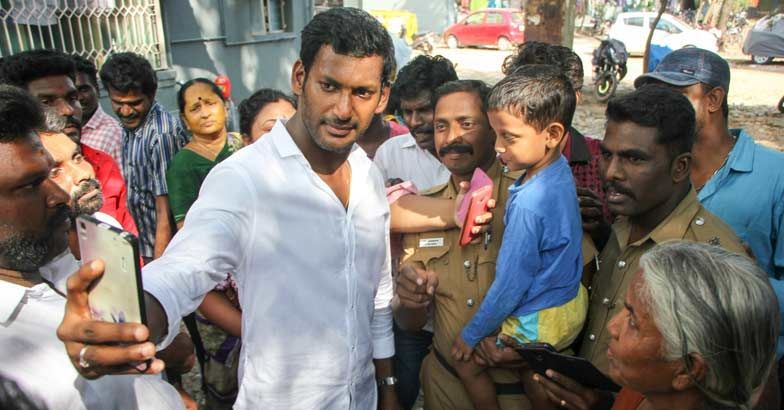 RK Nagar by-poll: Election official replaced after actor Vishal's  disqualification | Jayalalithaa | Vishal Krishna | Tamil Nadu | Onmanorama  | Gujarat Election News | Gujarat Election News 2017 | Gujarat Election