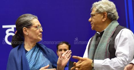 Yechury meets Sonia Gandhi for talks over common presidential candidate