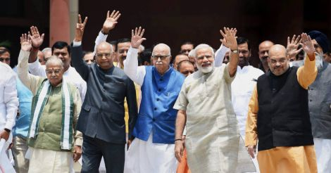 Kovind files papers, says will keep Prez office above 'party politics'