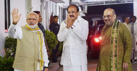 From pasting posters to NDA's vice-presidential candidate, Venkaiah Naidu Garu has come a long way