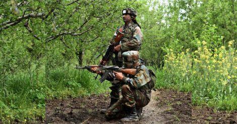 Kashmir encounter: civilian killed, 3 jawans injured