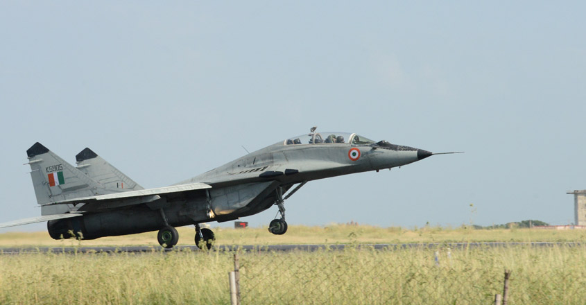 MiG 29K trainer jet crashes into sea, search for one missing pilot on