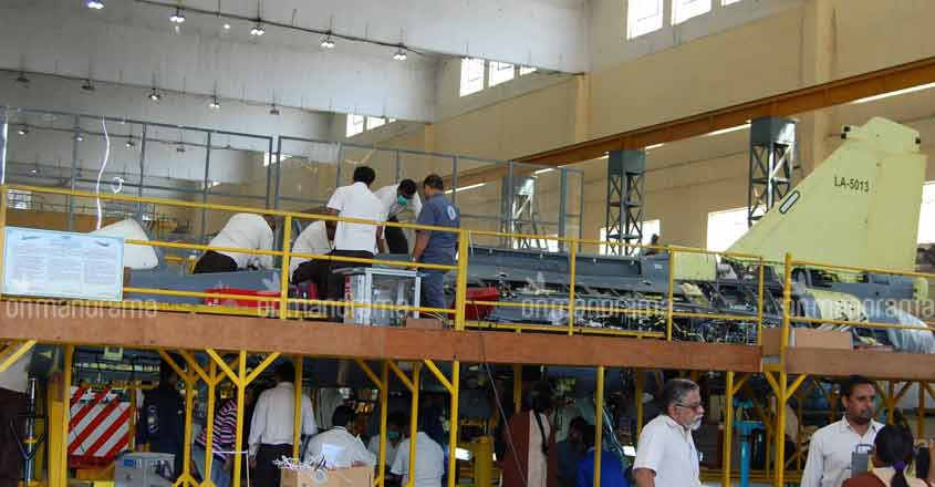 HAL ramps up Tejas production