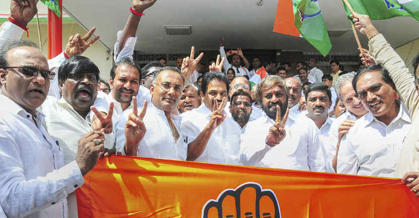 Cong-JD(S) bags both assembly seats, BJP bags one LS seat