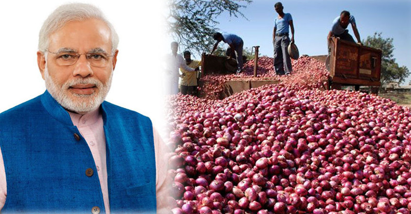 Nashik farmer gets Rs 1,064 for 750 kg onion; sends money to PM